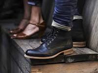 Модные зимние ботинки для мужчин 2016