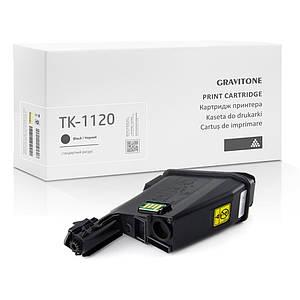 Сумісний картридж для Kyocera TK-1120 Toner Kit (TK1120), 3.000 копій, аналог від Gravitone