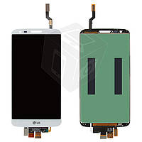 Дисплей + touchscreen (сенсор) для LG G2 D800 / D801 / D803, оригинал, белый