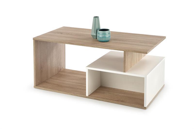Журнальный стол COMBO дуб сонома (110х55х49) Halmar