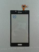 Сенсор для мобильного телефона LG P705 Optimus L7 High Copy black