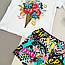 Комплект набір літній футболка й шорти для дівчинки, фото 7