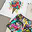 Комплект набор летний футболка и шорты для девочки, фото 7