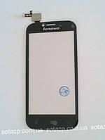 Сенсор к мобильному телефону Lenovo A706 чёрный