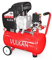 Компрессор воздушный VULKAN IBL 24B 1,8 кВт 24 л 190 л/мин, фото 1