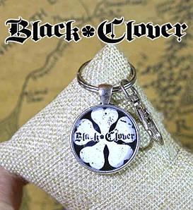 """Брелок Черный клевер """"Пятилистник"""" / Black Clover"""