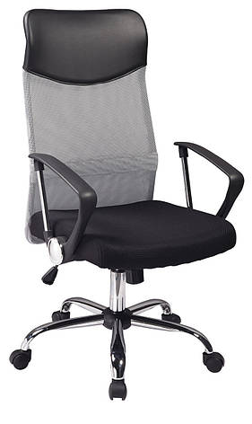 Крісло Q-025 Чорний/Сірий, фото 2