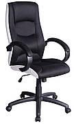 Крісло Q-041 Чорний / Білий