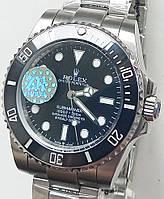 Годинник Rolex Submariner black механіка. клас ААА, фото 1