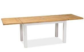 Стіл обідній Poprad II 140х80 Коричневий Медовий / Сосна Патина, фото 2