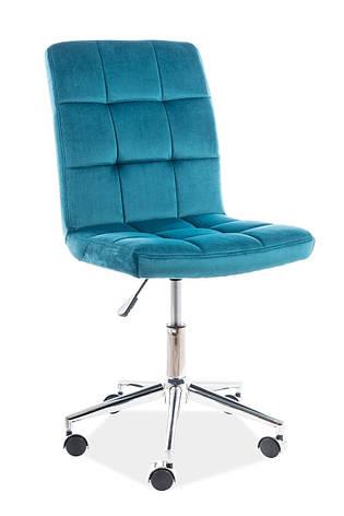 Крісло Q-020 Velvet Бірюзовий, фото 2