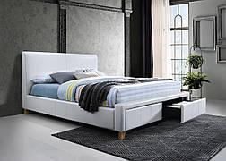 Двоспальне ліжко Neapoli 160X200 Білий