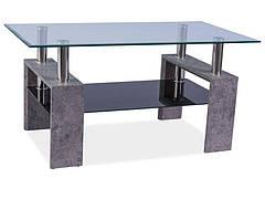 Журнальний стіл Lisa II Сірий камінь 110X60X55