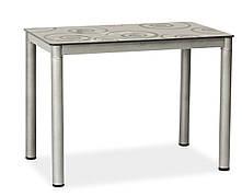 Стіл обідній Damar 100 x 60 см Сірий