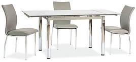 Стіл обідній GD-018 110 (170) x74 Сірий