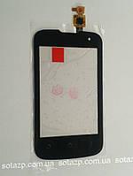 Сенсорный экран для мобильного телефона Fly IQ430 Evoke, черный, high copy