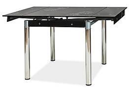 Стіл обідній GD-082 80 (131) x80 Чорний