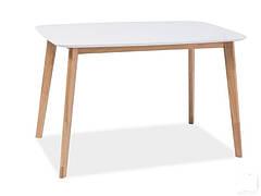 Exen Intarsio Стіл обідній 120х80 см Білий