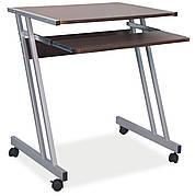 Комп'ютерний стіл B-233 Коричневий / Алюміній