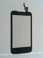 Сенсорный экран для мобильного телефона Lenovo A356, чёрный,  high copy