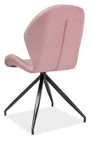 Стілець Hals II Рожевий / Чорний, фото 2