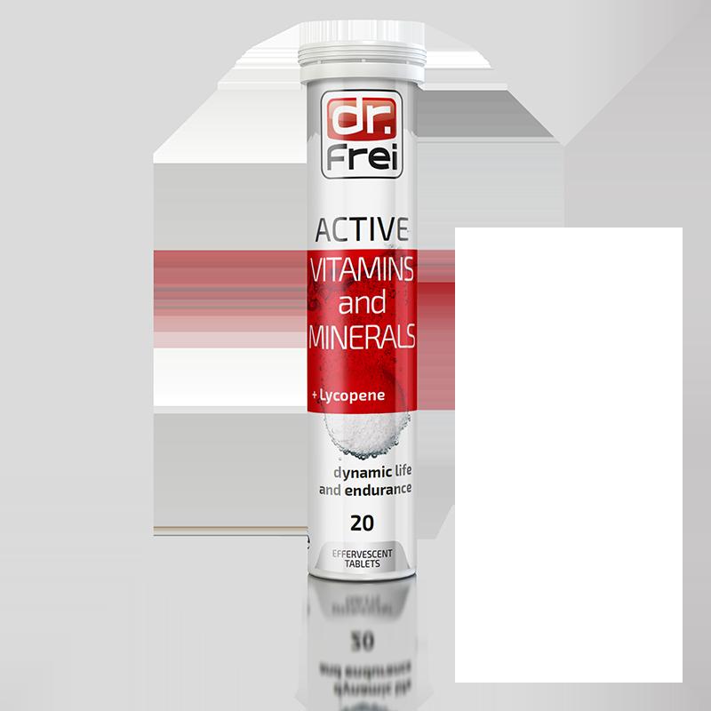 Вітаміни шипучі Dr. Frei Active, №20, Болгарія (3802)