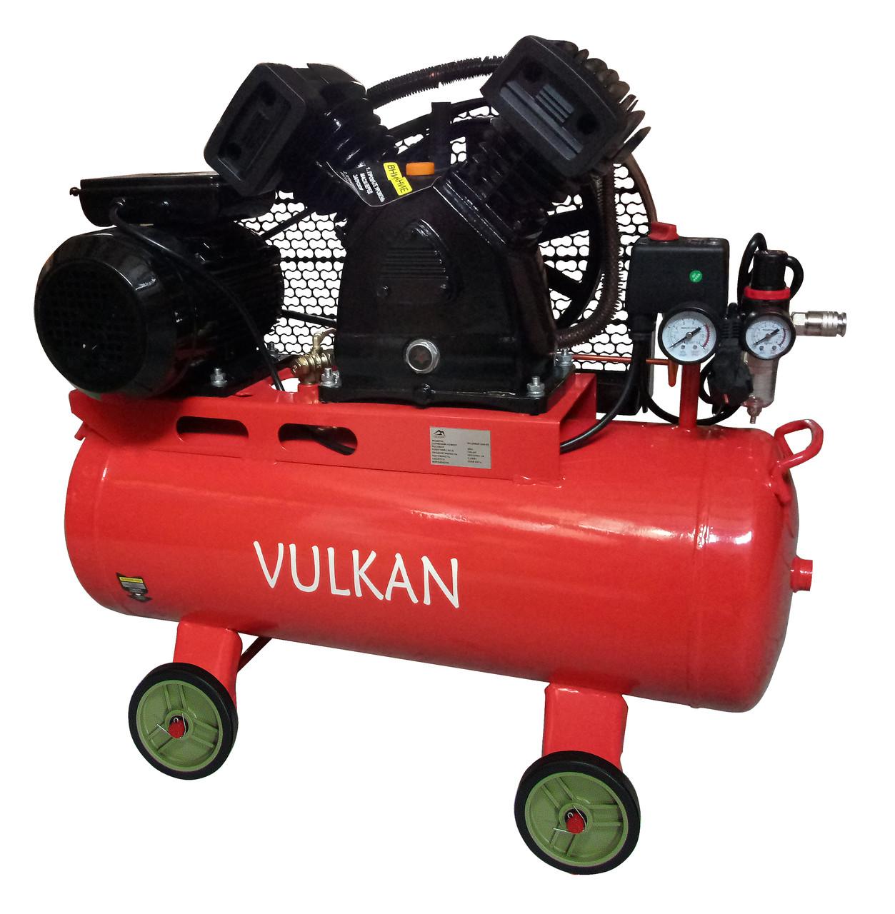 Компресор повітряний Vulkan IBL 2065E-220-50 ремінною 2.2 кВт