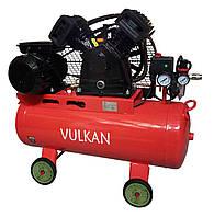 Компресор повітряний Vulkan IBL 2065E-220-50 ремінною 2.2 кВт, фото 1