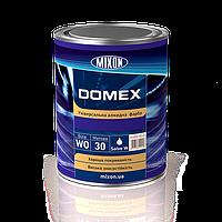 Универсальная алкидная краска DOMEX. Белая полуматовая. 1л