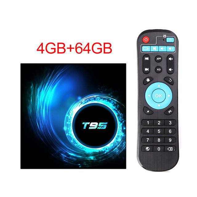 Смарт ТВ приставка Crenova T95 4/64Gb
