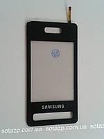 Сенсорный экран для мобильного телефона Samsung D980, черный, High Copy