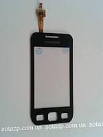 Сенсорный экран для мобильных телефонов Samsung S5250, S5750, черный, High Copy
