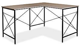 Комп'ютерний стіл B-182 Дуб / Чорний