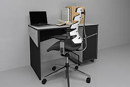 Комп'ютерний стіл Tech Індастріал/Чорний правий