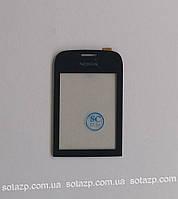 Сенсорный экран для мобильного телефона Nokia 202 Asha, Hich copy, чёрный