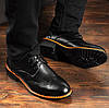 Идеальное сочетание классических туфлей и мужского костюма