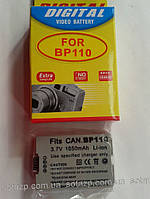 Аккумулятор для фото- видеокамеры Canon BP110,  BP-110, BP 110   1050mAh