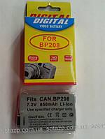 Аккумулятор для фото- видеокамеры Canon BP208, BP-208, BP 208    850mAh