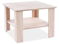 Журнальний столик ARIEL K дуб сонома 67x67x50