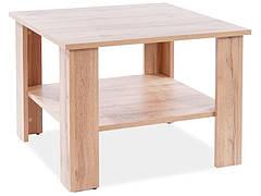 Журнальний столик ARIEL K дуб вотан 67x67x50