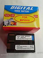 Аккумулятор для фото- видеокамеры Canon BP522,  BP-522,  BP 522,  2800mAh