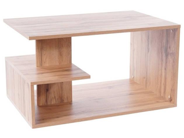 Журнальний столик SANTA дуб вотан 90X60X50, фото 2