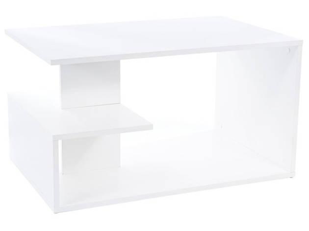 Журнальний столик SANTA білий мат 90X60X50, фото 2