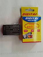 Аккумулятор для фото- видеокамеры Nikon EN-EL20,  ENEL20   1020mAh