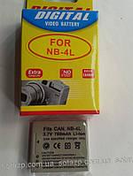 Аккумулятор для фото- видеокамеры Canon NB-4L,  NB4L,  NB 4L,    780mAh