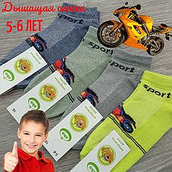 Носки детски с сеткой, для мальчиков, SPORT, ЕКО, р.16(5-6), случайное ассорти 30031796