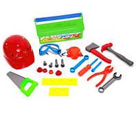 """Іграшковий Набір інструментів """"Юний столяр"""" Kinderway KW-32-005 (2) Салатовий"""