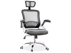 Крісло поворотне Q-831 чорний
