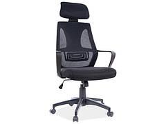 Крісло поворотне Q-935 чорний
