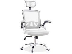 Крісло поворотне Q-831 сірий